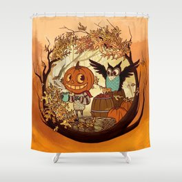 Fall Folklore Shower Curtain