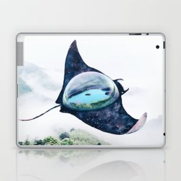 Space Manta Ray Laptop & iPad Skin