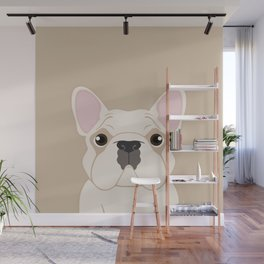 Frenchie - Cream Wall Mural