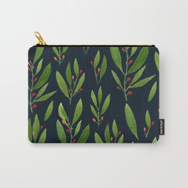 simple black nature Carry-All Pouch