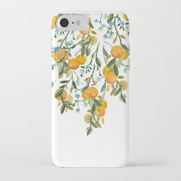 A Bit of Spring and Sushine Trailing Oranges iPhone Case