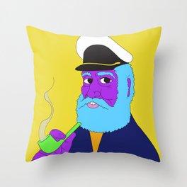 Aye Aye Captain Throw Pillow