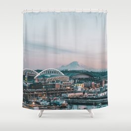 Seahawks Shower Curtains