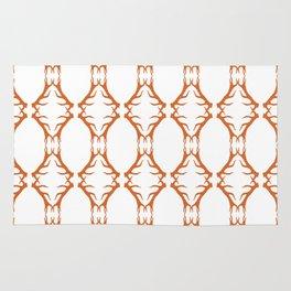 Modern Antler: Orange Rug