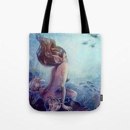 Siren of the reef Tote Bag