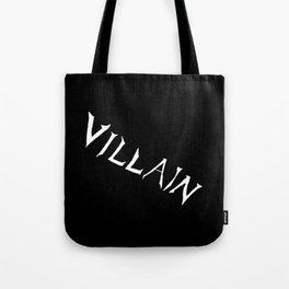Villain in Black Tote Bag