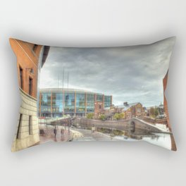 Barclaycard Arena and the Malt House Pub Rectangular Pillow