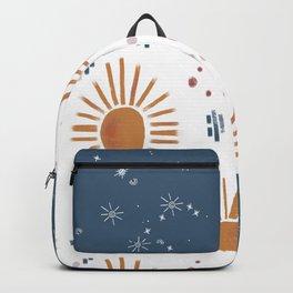 sunbursts & celestial moments Backpack