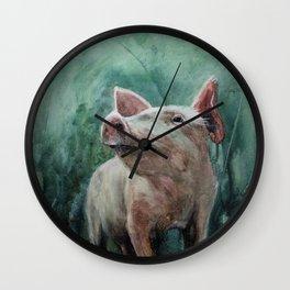 One Bad Pig Wall Clock
