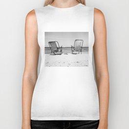 Beach Life - Gone Swimming Biker Tank
