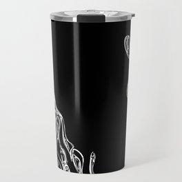 Dripping Swirls Travel Mug