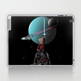 sci-fi mashup Laptop & iPad Skin