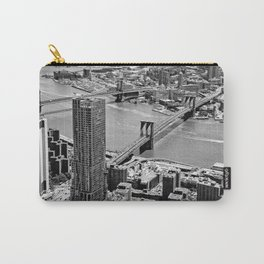 Brooklyn Bridge View - New York City Carry-All Pouch