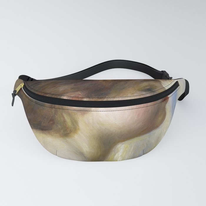 Pierre-Auguste Renoir - Head of a Young Woman Fanny Pack