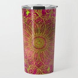 Pink lemon Travel Mug