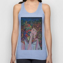 Colourfully celebrating Unisex Tank Top