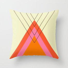 Iglu Sixties Throw Pillow