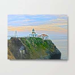 Point Bonita Lighthouse Metal Print