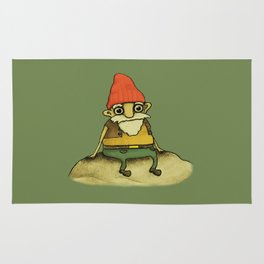 Garden Gnome Rug