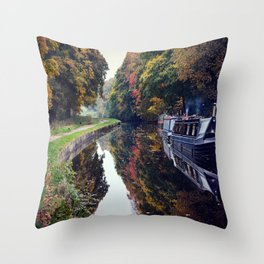 Autumns Palate  Throw Pillow