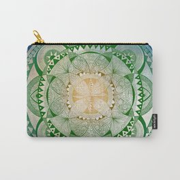 Metta Mandala, Loving Kindness Meditation Carry-All Pouch