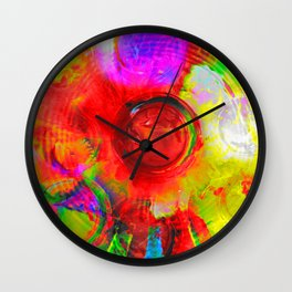 Fun Colors Wall Clock