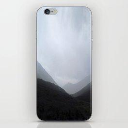 Back in the crouching mountains... Glencoe, Scotland iPhone Skin