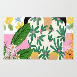 Floral fever Rug