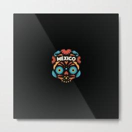 Mexican Skull I. Metal Print