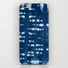 Shibori Clothespins  iPhone Skin