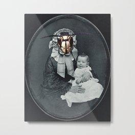 Abnormal Motherhood Metal Print