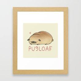 Pugloaf Framed Art Print