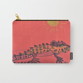 Crocodile Skink Carry-All Pouch