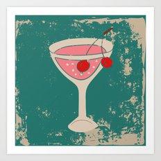 Alcohol_03 Art Print