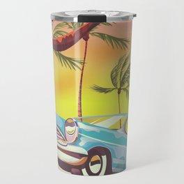 Destin Florida USA vintage style travel poster Travel Mug