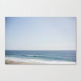 California Beach Day Canvas Print