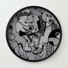 Do Bears Shit in the Woods? Wall Clock