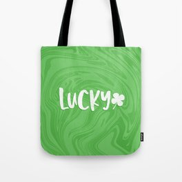 Lucky Marble 1 Tote Bag
