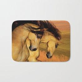 HORSES - The Buckskins Bath Mat