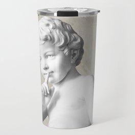Ancient Sculpture Angel Decor Travel Mug