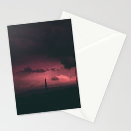 Cloudy Rocket Stationery Cards