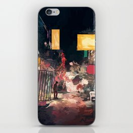 The Closing Hours iPhone Skin