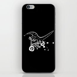 Anteater cyclists iPhone Skin
