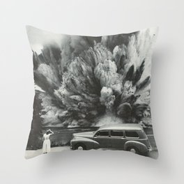 Unexpected Scenery Throw Pillow
