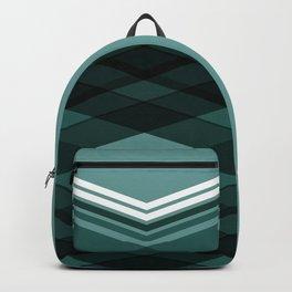 Blue Stripes Backpack