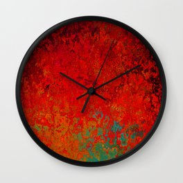 Figuratively Speaking, Abstract Art Wall Clock