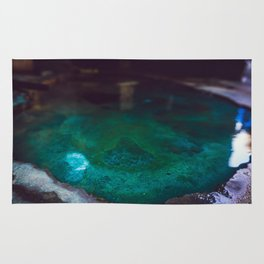 Color Dye and Water  - Three Rug
