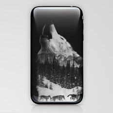 Howling Wolf iPhone & iPod Skin