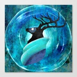 Ice God Canvas Print