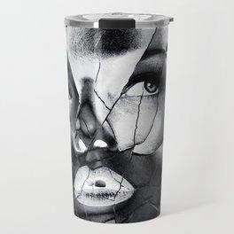WOMAN IN BLACK WHITE Travel Mug